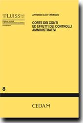 Corte dei Conti ed effetti dei controlli amministrativi