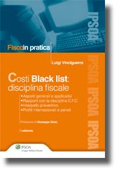 Costi Black list: disciplina fiscale