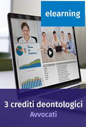 Crediti deontologici per avvocati - Pacchetto 3 corsi online