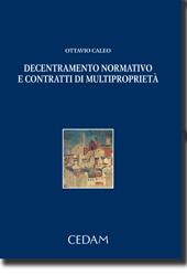Decentramento normativo e contratti di multiproprietà