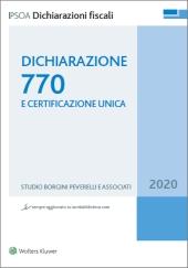 Dichiarazione 770 e Certificazione unica - 2017