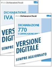 Dichiarazioni Fiscali 2021: Dichiarazioni IVA + 770 e Certificazione Unica (Formula Sempre Aggiornati)