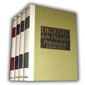 Digesto Discipline Privatistiche - Sezione Civile - Ottavo aggiornamento