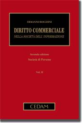 Diritto commerciale nella società dell'informazione - Vol. II: Società di persone