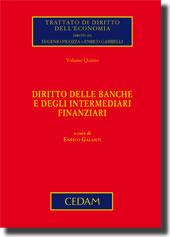 Diritto delle banche e degli intermediari finanziari