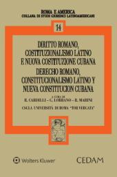 Diritto romano, costituzionalismo latino e nuova costituzione cubana