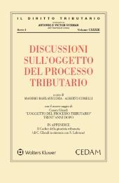 Discussioni sull'oggetto del processo tributario