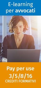 E-learning per avvocati (pacchetti da 3, 5, 8 e 16 crediti formativi)