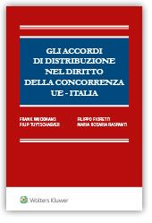 Ebook - Gli accordi di distribuzione nel diritto della concorrenza UE - Italia