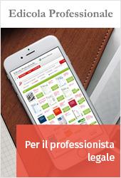 Edicola professionale per il professionista legale