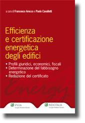 Efficienza e certificazione energetica degli edifici