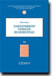 Elementi normativi e sindacato del giudice penale