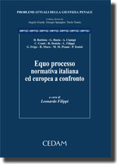 Equo processo: normativa italiana ed europea a confronto.