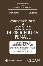 Esame Avvocato 2020 -  Commentario Breve al Codice di Procedura Penale - Appendice 2020