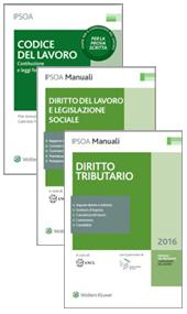 Esame Consulenti del Lavoro 2016: Collana del Praticante (2 volumi) + Codice del Lavoro