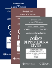 Esame avvocato 2020 - 3 Commentari Cedam 2020 (Civile + Penale + Procedura civile)