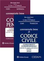 Esame avvocato 2021 - 2 Commentari Cedam 2021 (Civile + Penale)