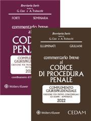 Esame avvocato 2021 - 2 Commentari Cedam 2021 (Penale + Procedura penale)