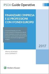 Finanziare l'impresa con i fondi europei