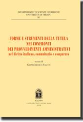 Forme e strumenti della tutela nei confronti dei provvedimenti amministrativi