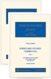 Formulario Notarile Commentato - 2 Volumi (3 Tomi)