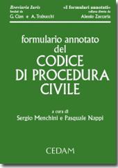 Formulario annotato del codice di procedura civile
