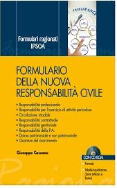 Formulario della nuova responsabilità civile