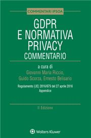 GDPR e Normativa Privacy  Commentario