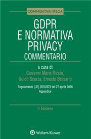 GDPR e Normativa Privacy Commentato