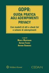 GDPR: guida pratica agli adempimenti privacy