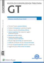 GT - Giurisprudenza Tributaria