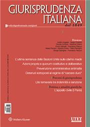 Giurisprudenza Italiana