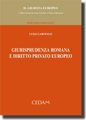 Giurisprudenza romana e diritto privato europeo