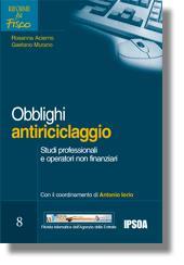 Gli obblighi antiriciclaggio negli studi professionali