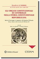 Gli organi costituzionali di controllo nella storia costituzionale repubblicana