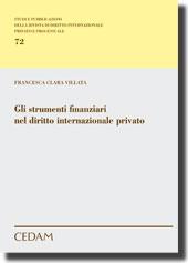 Gli strumenti finanziari nel diritto internazionale privato