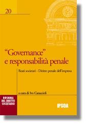 Governance e responsabilità penale