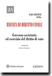Governo societario ed esercizio del diritto di voto