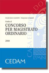 Guida al concorso per magistrato ordinario 2008