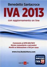 IVA 2013. Con aggiornamento online
