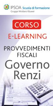 I Provvedimenti fiscali del Governo Renzi