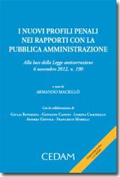 I nuovi profili penali nei rapporti con la pubblica amministrazione