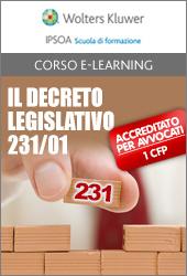 eLearning - Il Decreto Legislativo 231/01