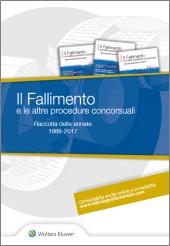 Il Fallimento e le altre procedure concorsuali - Raccolta delle annate 1988-2018