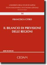 Il bilancio di previsione delle regioni