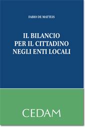 Il bilancio per il cittadino negli enti locali