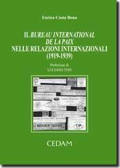 Il bureau International del la Paix nelle relazioni internazionali (1919-1939)