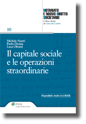Il capitale sociale e le operazioni straordinarie