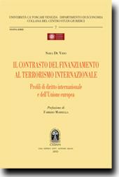 Il contrasto del finanziamento al terrorismo internazionale