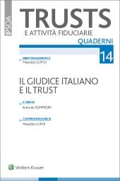 Il giudice italiano e il trust